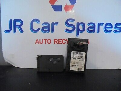 RENAULT MEGANE MK2 / SCENIC / CLIO MK3 IGNITION KEY CARD READER S118539003D