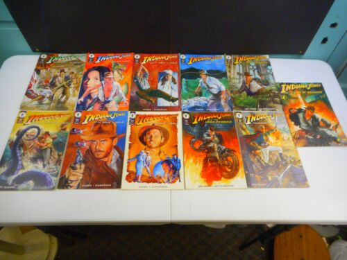 1994 Dark Horse Comics Indiana Jones (11 Comics)