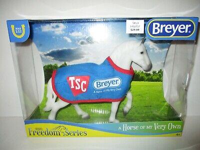 BREYER 5479 TSC Exclusive Percheron Draft Horse w/ Blanket NEW