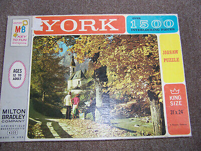 Vintage York jigsaw puzzle over 1500 pieces (unopened) NIB