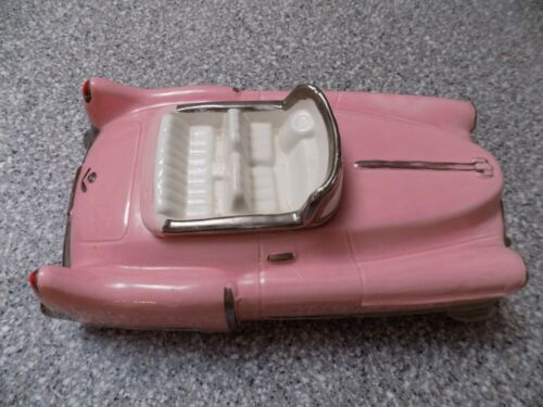 1986 Expressive Designs Pink Cadillac Cookie Jar