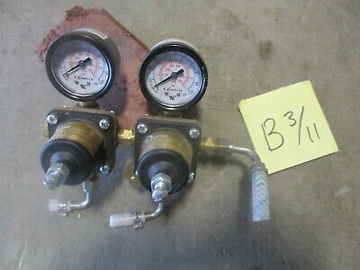 2 Used Cornelius Regulators 857a For Co2 For Beer Sodas Free Shipping A