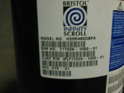 Bristol H20r483dbfa Compressor Hvac