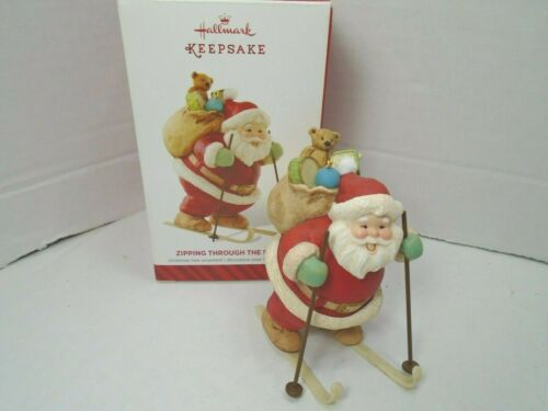 Hallmark Keepsake 2014 Zipping Through The Snow