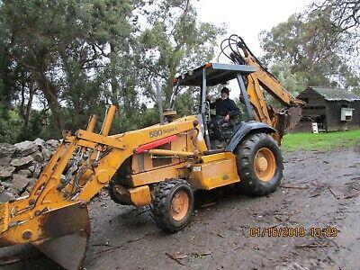 Heavy Equipment Parts & Accs - Case 580 Backhoe