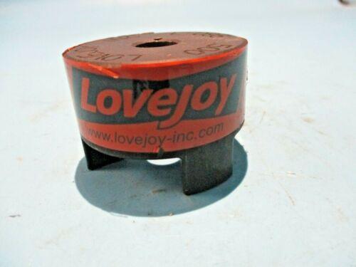 "NEW SHELF STOCK LOVE JOY L-095 .500 JAW COUPLING HUB 1/2"" BORE"