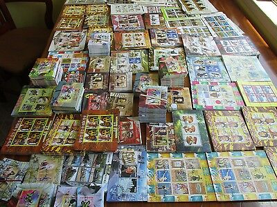 50 Different Souvenir Sheets  Free Shipping