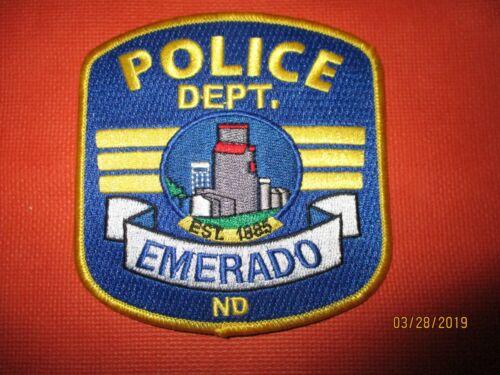 Collectible North Dakota Police Patch,Emerado,New