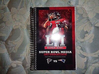 2017 Atlanta Falcons Super Bowl Media Guide 2016 51 Li Yearbook Book Program Ad