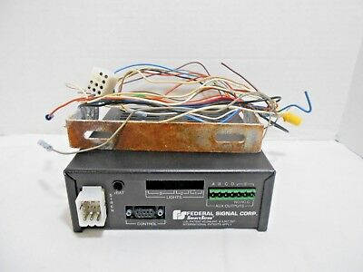 Federal Signal Corporation Ss2000-ercsn1 Electronic Sirenlight Control System