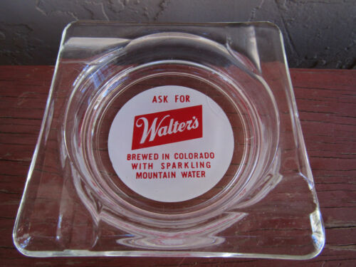Walters Beer Ashtray brewed in Colorado