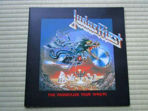 """Judas Priest"" Tourbook The Painkiller Tour 1990/91 Booklet"