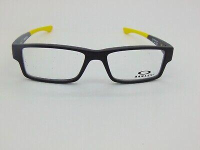 OAKLEY Junior AIRDROP XS OY8003-0648 Steel/Yellow 48mm Kids Rx Eyeglasses