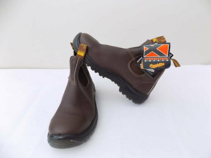 cb6cde66372 Brand New Blundstone Work Boots, Elastic Sided, Steel Toe Safety ...