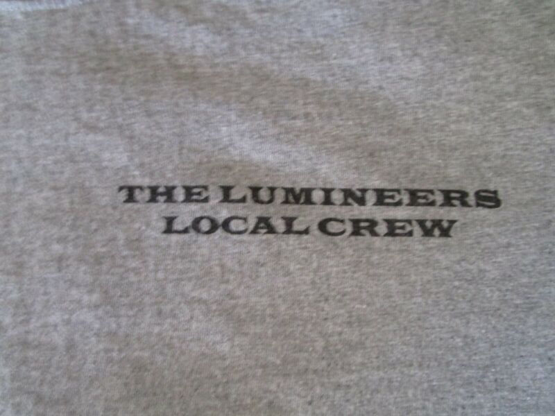 The Lumineers Local Crew Concert Shirt XL