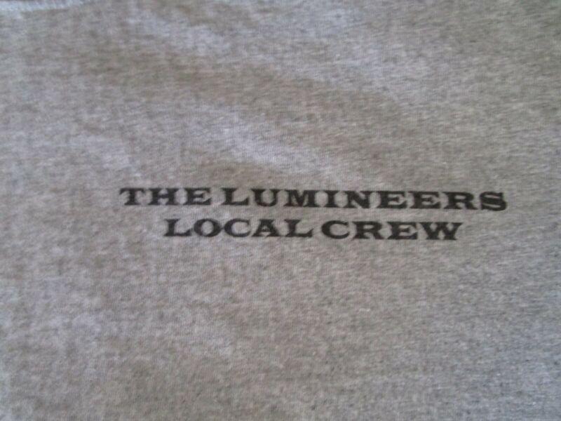 The Lumineers Local Crew Concert Shirt XL