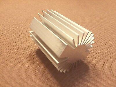 2 Inch Diameter Heat Sink Aluminum. Round. 2.0 X 3.0. Low Thermal Resistance.