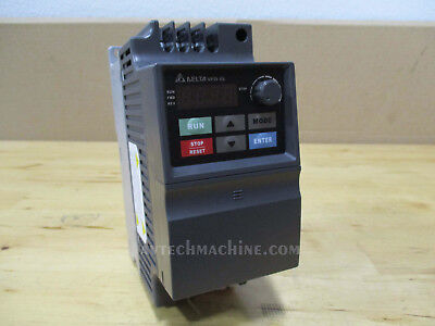 Delta Inverter Vfd004el23a Ac Variable Frequency Drive Vfd-el 12hp 3 Phase 230v