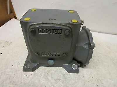 Boston Gear F724-20-b7-g 201 Ratio Gearbox Speed Reducer .570hp 950ft.inch