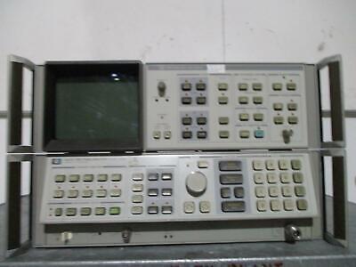 Agilent HP Keysight 8567A Spectrum Analyzer W/Opt 062, Display