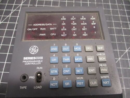 GENERAL ELECTRIC PROGRAMMABLE CONTROLLER  SERIES ONE 830811