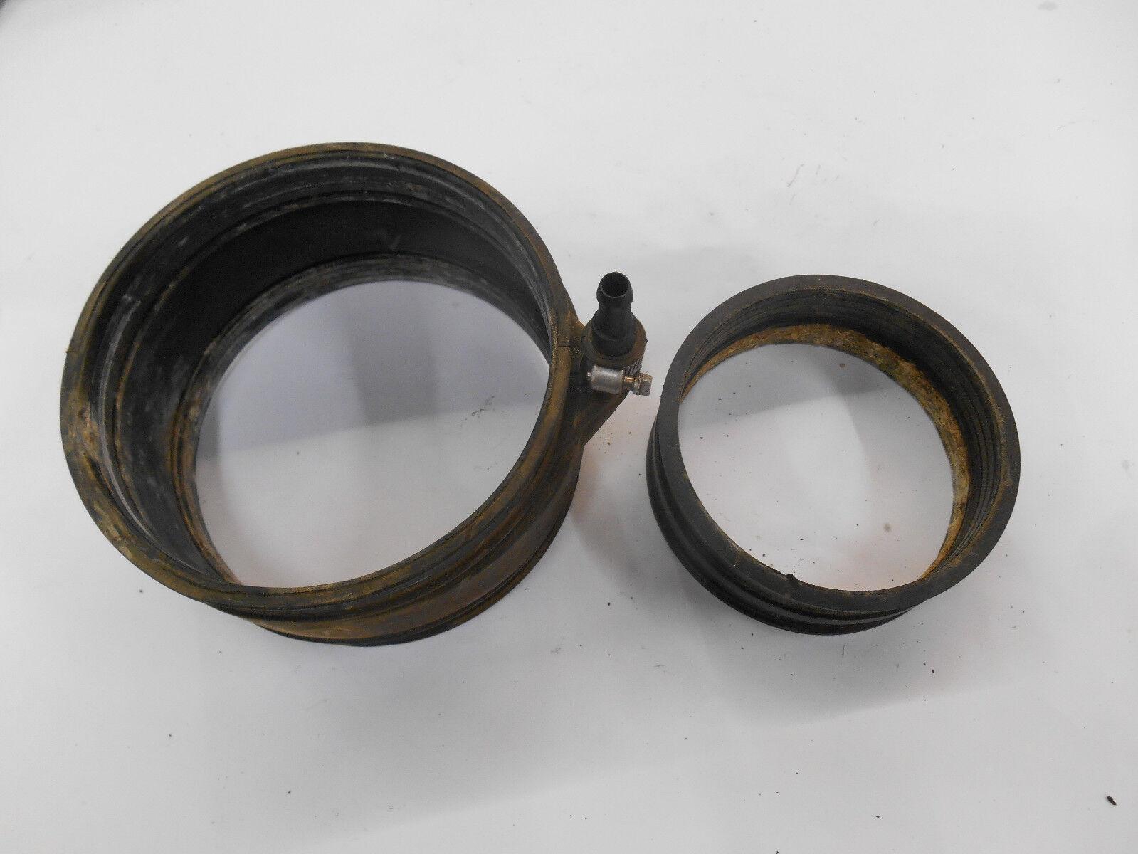 07 YAMAHA VX 110 EXHAUST RUBBER COUPLER JOINT hose inner outer VX110