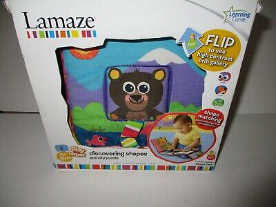 Lamaze Discovering Shapes Crib Gallery Developmental Baby Toy NEW NIB