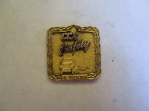 CCX Inc 4yr Trucking Truck Driver Employee Safety Award Pin