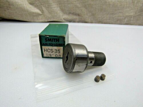 "Smith Bearing HR-1-1/8 HCS-35 1-1/8"" Cam Follower Bearing Rep McGill CFH-1-1/8-S"