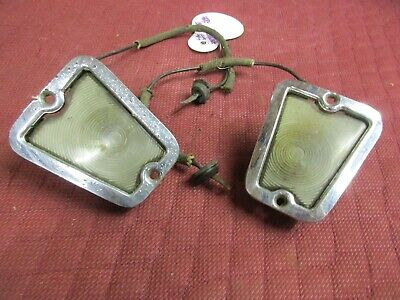 1955 CADILLAC DEVILLE LICENSE PLATE LIGHTS
