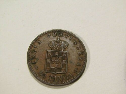 Portuguese India 1903 1/8 Tanga Coin