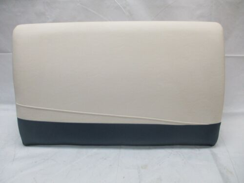 Stern Bench Seat Backrest White and Blue