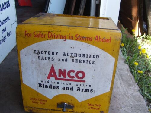 Vintage Anco windshield wiper cabinet