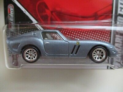 HOT WHEELS - GARAGE - FERRARI 250 GTO (REAL RIDERS) - DIECAST