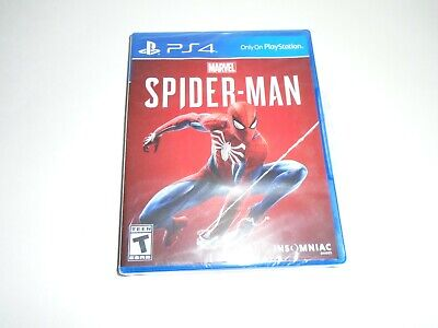 PS4 Marvel Spiderman Brand New
