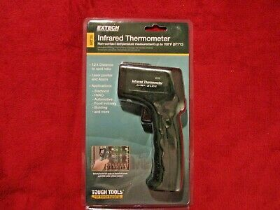 Extech Infrared Thermometer Irt25 W Alarm Brand New Sealed