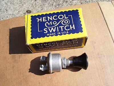 Austin Four Light - Vintage Automobile NOS switch dash foglight head lamp gm ford chevy rat rod vw