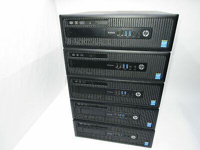 LOT OF 5  HP ProDesk 600 G1 SFF Intel i5-4570 3.2Ghz 8GB ,NO  HDD, NO OS , usado segunda mano  Embacar hacia Mexico