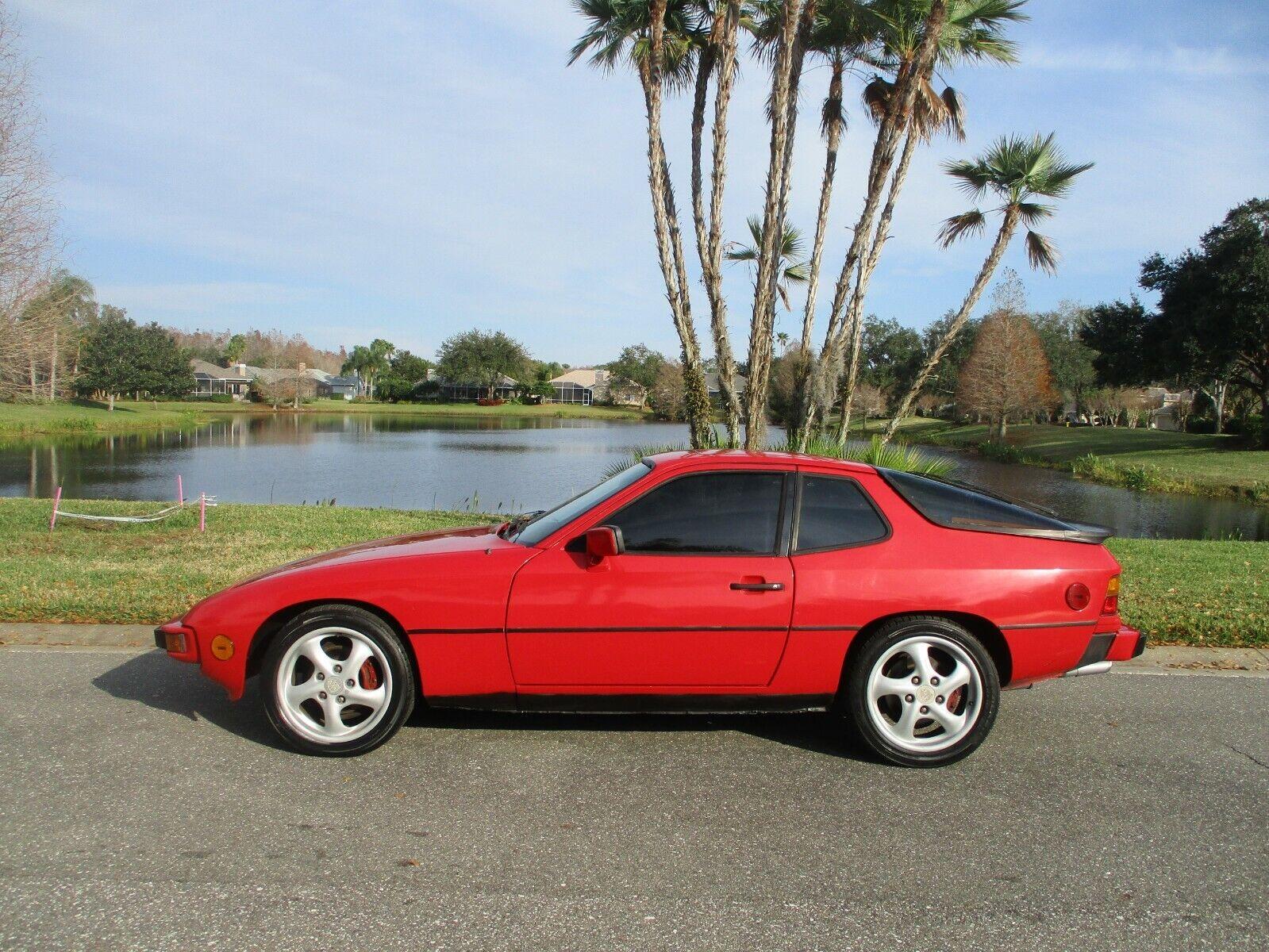 1987 PORSCHE 924 S  BEAUTIFUL CAR   BEST COLOR COMBO SUNROOF LOADED LOTS OF FUN