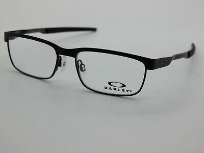 NEW OAKLEY YOUTH STEEL PLATE XS OY3002-0146 Satin Black Kids 46mm Rx (Youth Glasses)