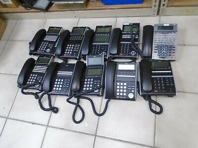Lot Of 10 Nec Phones Itl-8ld1- Dtl-24d-1 And Others