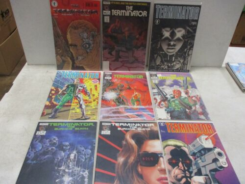 17 Now Comics Terminator Comic Books