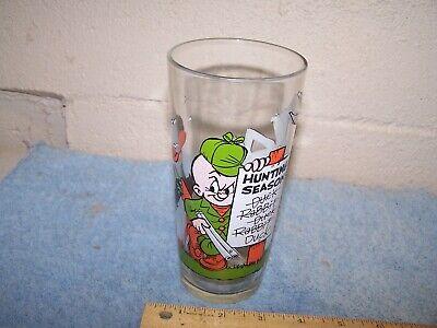 Nice Vintage Pepsi Glass Daffy Bugs Elmer Hunting Season 1976