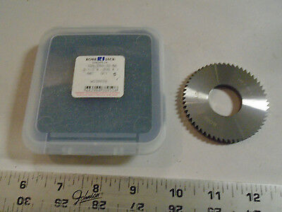 Machinist Mill Robb Jack Solid Carbide Saw Blade 2 12 X .20 56 Th