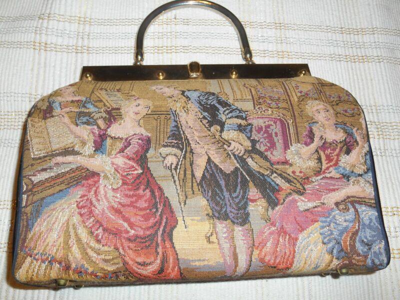 Stylecraft Renaissance Tapestry Purse