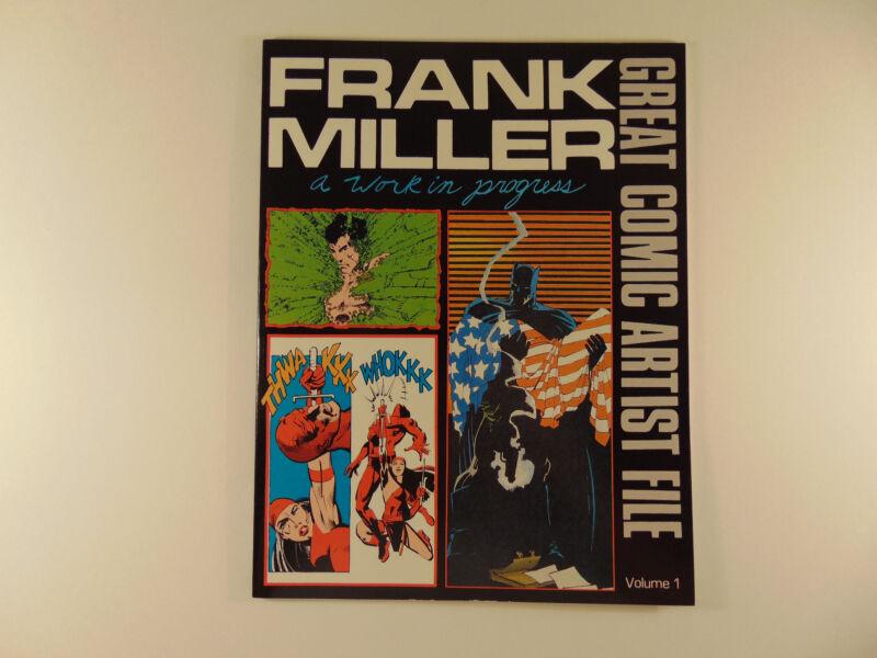 Great Comic Artist File Vol #1 Frank Miller