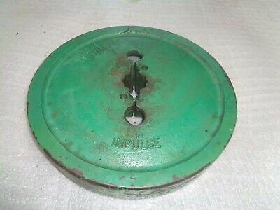 John Deere H. Hand Start Flywheel.  H 227 R