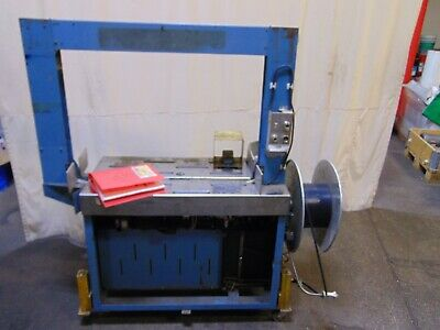 Gerrard-ovalstrapping Cardboard Box Poly Banding Strapping Machine Bundler