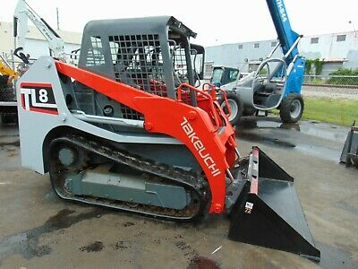 2016 Takeuchi Tl8 2 Speed Kubota 75 Hp Turbo - Pilot Controls - Work Ready