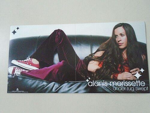 """Alanis Morissette - Original promo Poster  / Exc. new cond. / 12 x 24"""" / """"2002"""""""